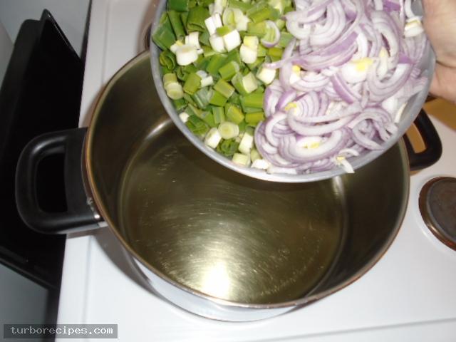 Σουπιές με σπανάκι - Βήμα 4