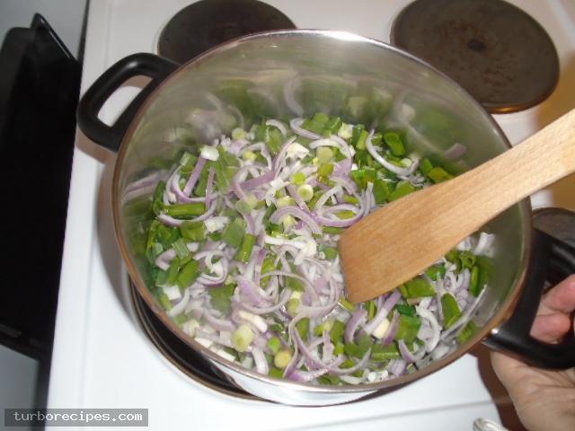 Σουπιές με σπανάκι - Βήμα 5