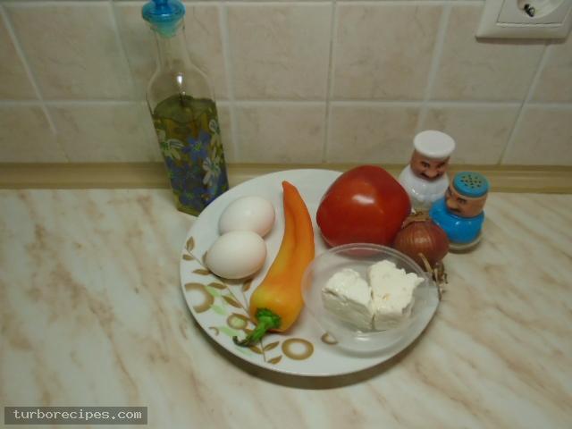 Απλή στραπατσάδα - Υλικά συνταγής