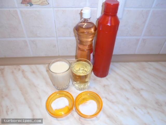 Νηστίσιμη σως - Υλικά συνταγής