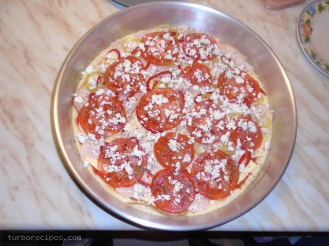Αφράτη ζύμη για πίτσα - Βήμα 19