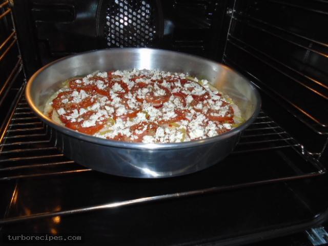 Αφράτη ζύμη για πίτσα - Βήμα 20