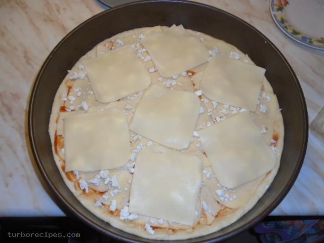Πίτσα με 4 τυριά - Βήμα 11