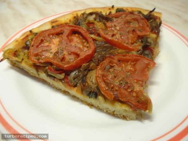 Νηστίσιμη πίτσα