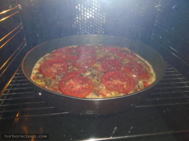 Νηστίσιμη πίτσα - Βήμα 22