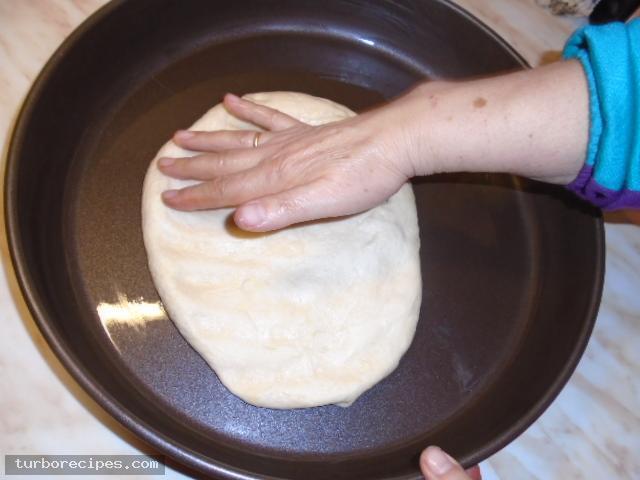 Νηστίσιμη πίτσα - Βήμα 3