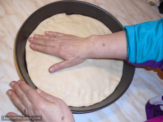 Νηστίσιμη πίτσα - Βήμα 4