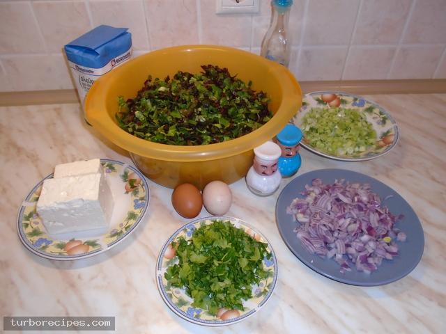 Λαχανομπατζίνα - Υλικά συνταγής