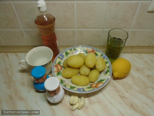 Πατατοσκορδαλιά - Υλικά συνταγής