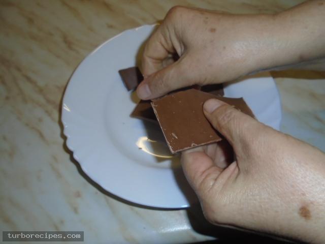 Κέικ σοκολάτας χωρίς αλεύρι - Βήμα 1