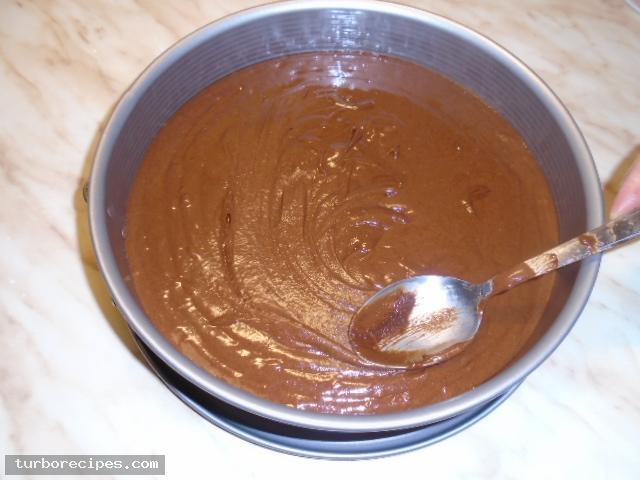 Κέικ σοκολάτας χωρίς αλεύρι - Βήμα 13