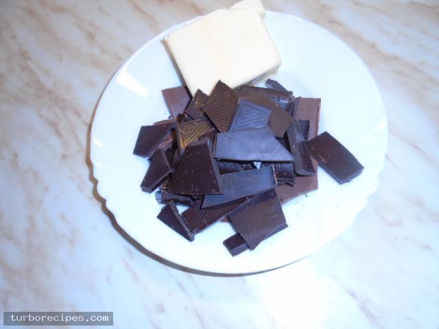 Κέικ σοκολάτας χωρίς αλεύρι - Βήμα 2