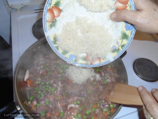Καλαμαράκια γεμιστά με ρύζι - Βήμα 9