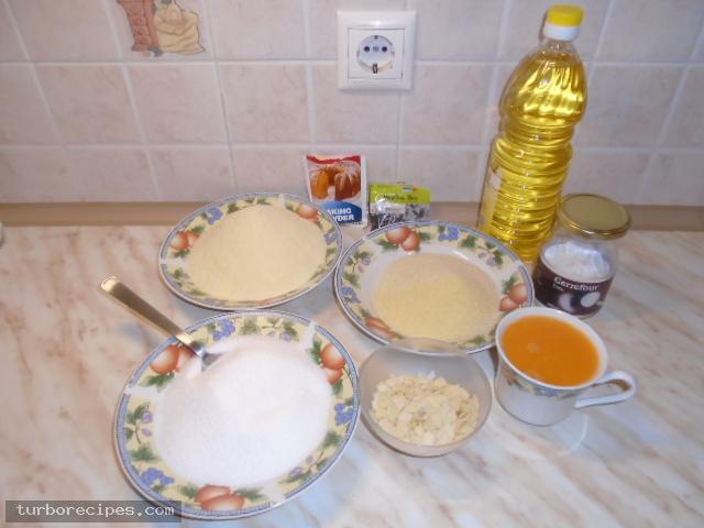 Νηστίσιμο σάμαλι - Υλικά συνταγής