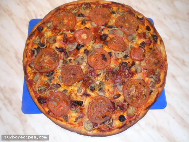 Πίτσα για χορτοφάγους