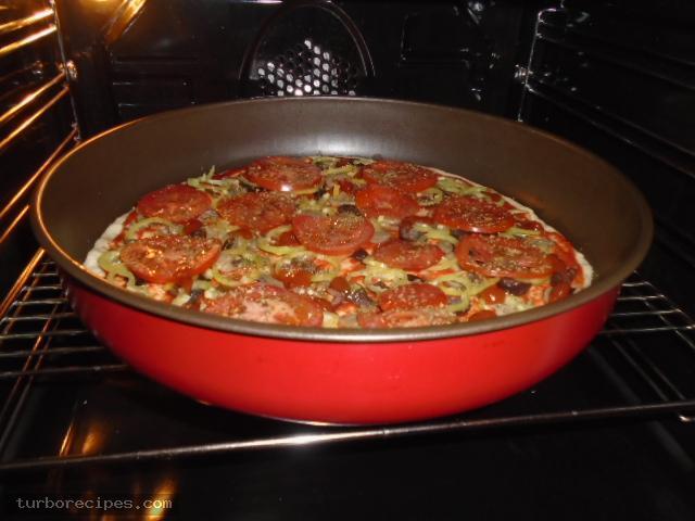 Πίτσα για χορτοφάγους - Βήμα 15