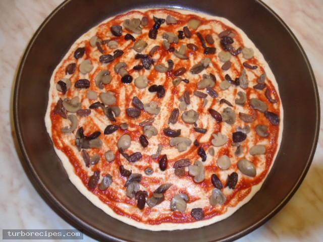 Πίτσα για χορτοφάγους - Βήμα 8