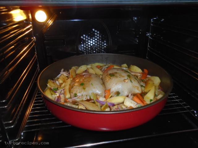 Θράψαλα γεμιστά στο φούρνο - Βήμα 39
