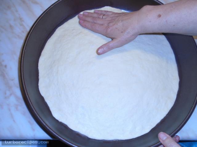 Πίτσα καρμπονάρα - Βήμα 5
