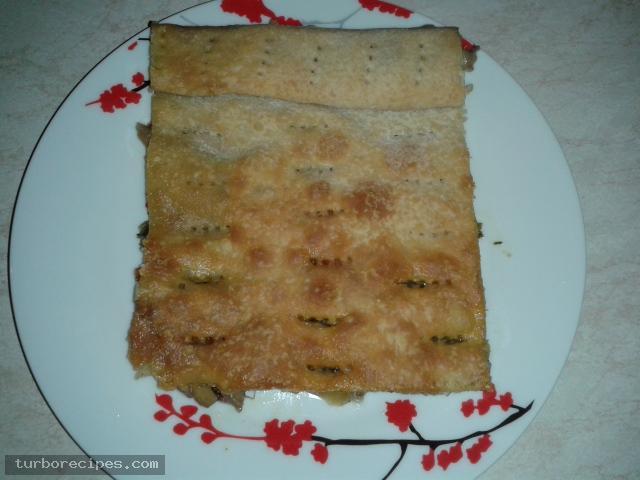 Νηστίσιμη μανιταρόπιτα
