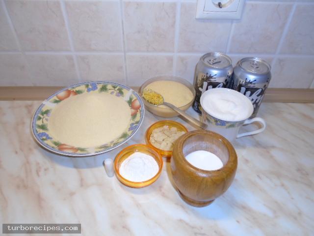 Νηστίσιμο σάμαλι με ανθρακούχα σόδα - Υλικά συνταγής