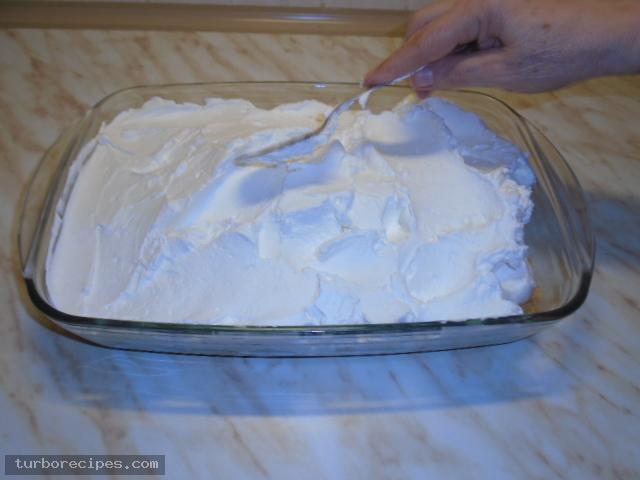 Τσιζκέικ με μαρμελάδα βερίκοκο - Βήμα 16