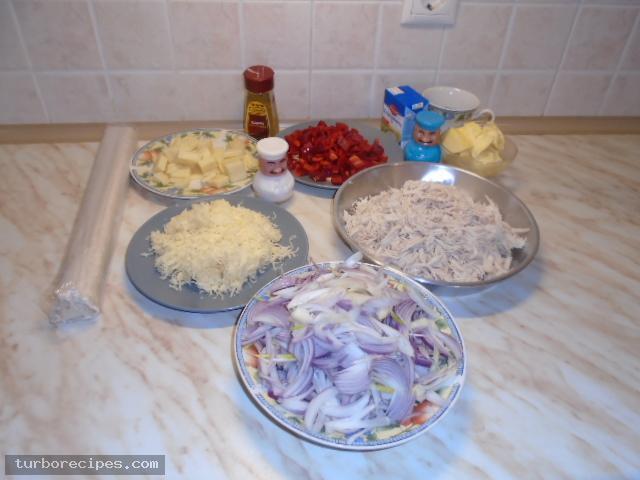 Κοτόπιτα - Βήμα 2