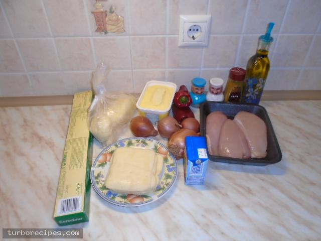 Κοτόπιτα - Υλικά συνταγής