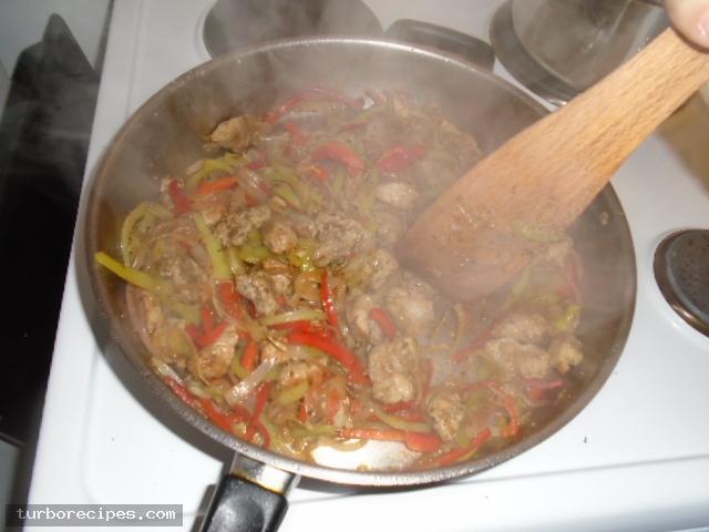 Σπιτικοί γύροι με χοιρινό κρέας - Βήμα 10