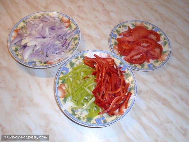 Σπιτικοί γύροι με χοιρινό κρέας - Βήμα 2