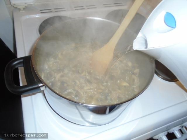 Ριζότο με μανιτάρια - Βήμα 12