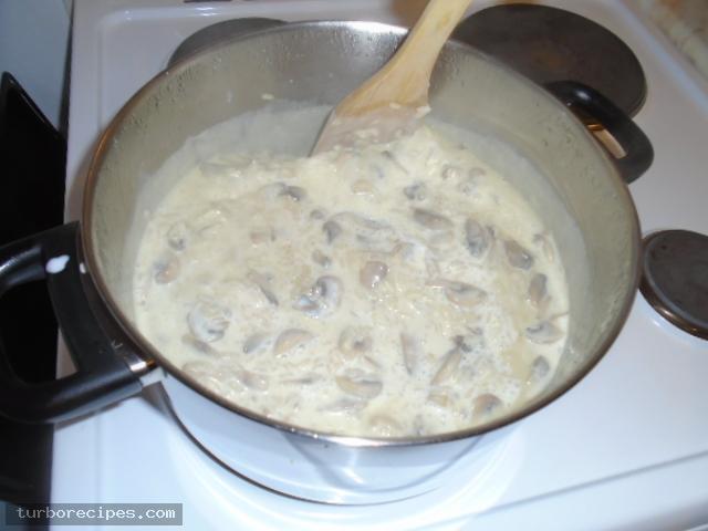 Ριζότο με μανιτάρια - Βήμα 14