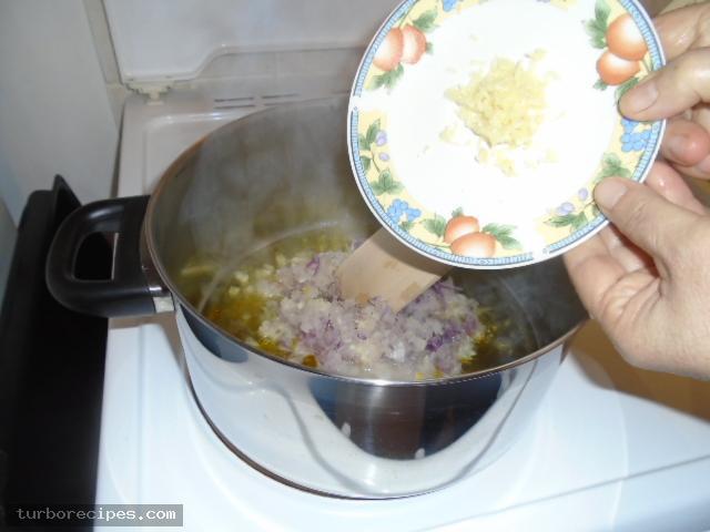 Ριζότο με μανιτάρια - Βήμα 3