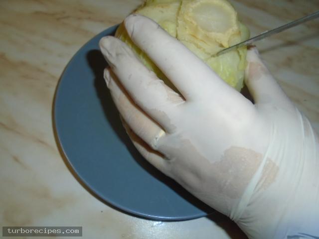 Παραδοσιακοί λαχανοντολμάδες - Βήμα 11