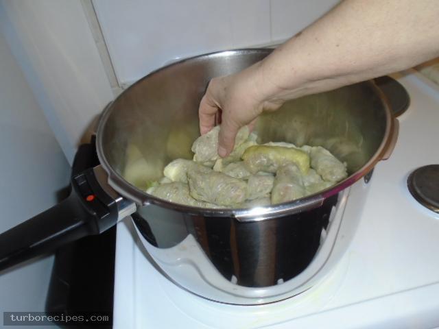 Παραδοσιακοί λαχανοντολμάδες - Βήμα 21