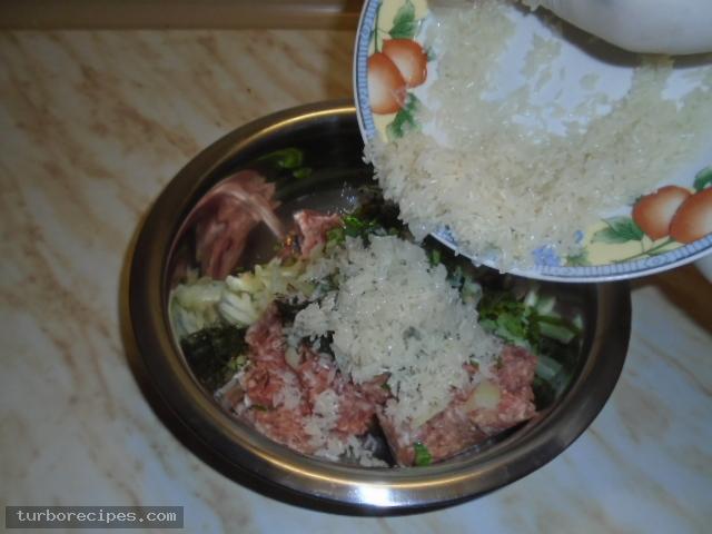 Παραδοσιακοί λαχανοντολμάδες - Βήμα 6