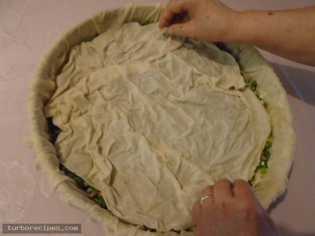 Παραδοσιακή χορτόπιτα - Βήμα 20