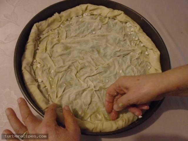 Παραδοσιακή χορτόπιτα - Βήμα 26