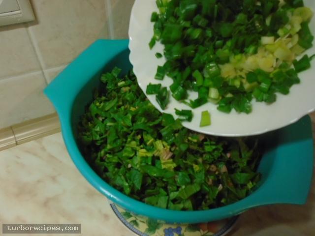 Παραδοσιακή χορτόπιτα - Βήμα 3