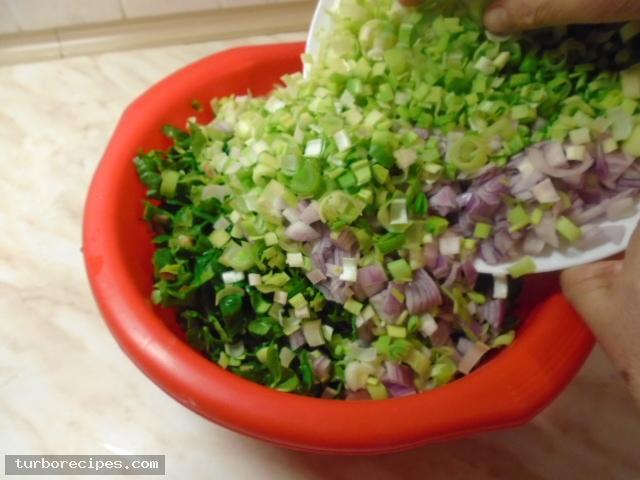 Παραδοσιακή χορτόπιτα - Βήμα 4