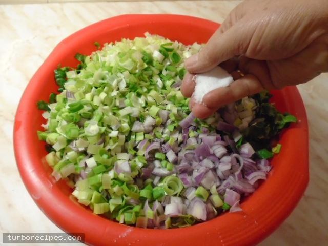 Παραδοσιακή χορτόπιτα - Βήμα 5
