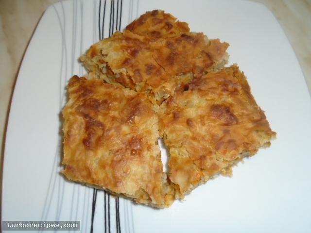 Παραδοσιακή κολοκυθόπιτα με αυγά