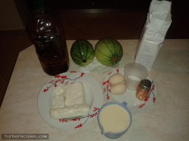 Μπατζίνα με κολοκύθι - Υλικά συνταγής
