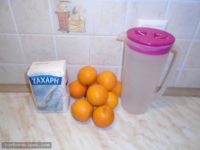 Μαρμελάδα πορτοκάλι - Υλικά συνταγής