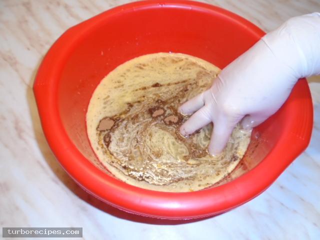 Νηστίσιμη φανουρόπιτα - Βήμα 10
