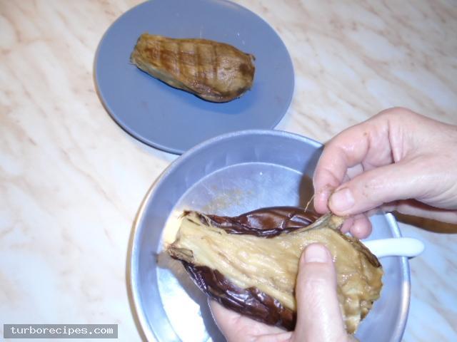 Μελιτζανοσαλάτα του μερακλή - Βήμα 5