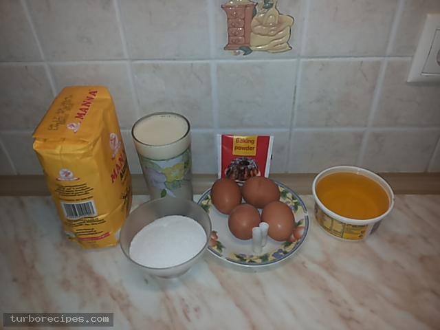 Χωριάτικη μηλόπιτα - Υλικά συνταγής