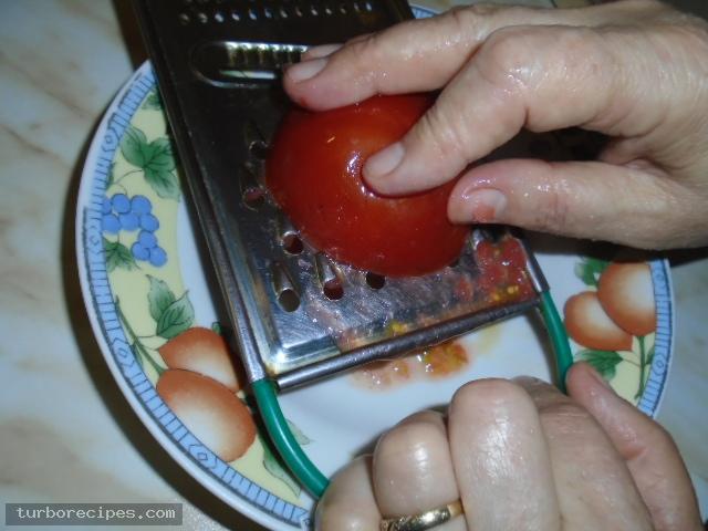 Πιπεριές γεμιστές με τυρί - Βήμα 2