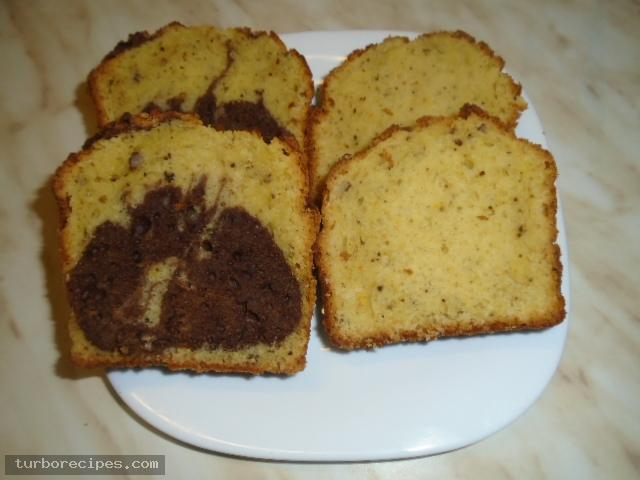 Κέικ με καρύδια και κακάο
