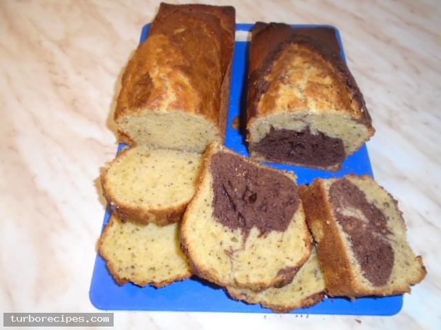 Κέικ με καρύδια και κακάο - Βήμα 17
